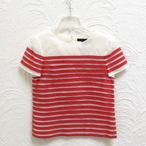 Marc by Marc Jacobs Textured Stripe Top